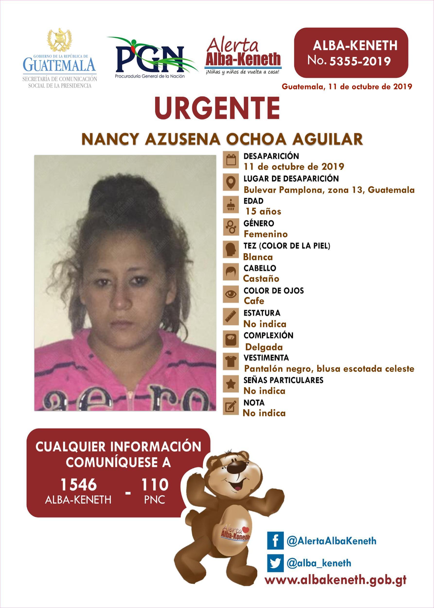 Nancy Azusena Ochoa Aguilar