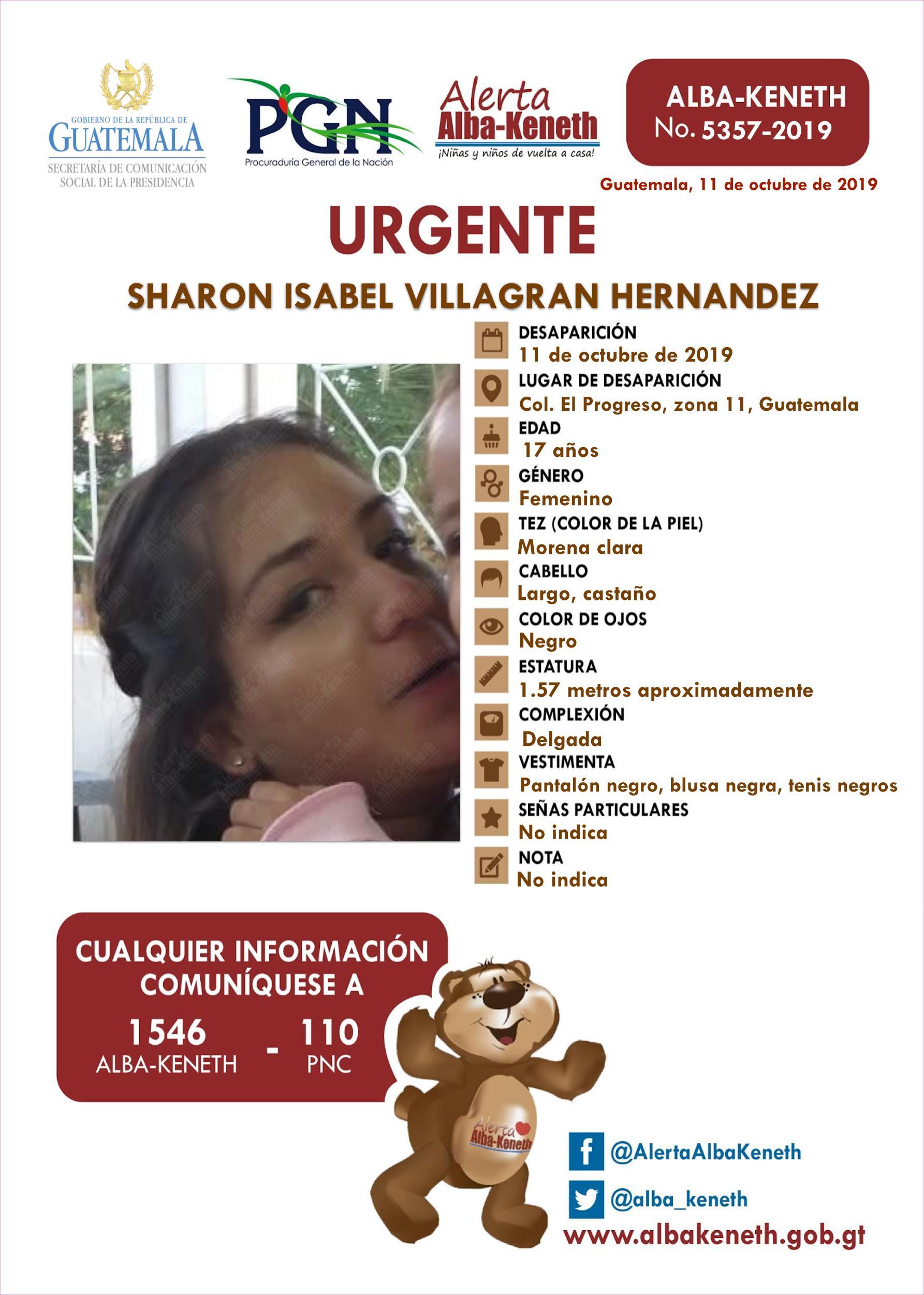 Sharon Isabel Villagran Hernandez