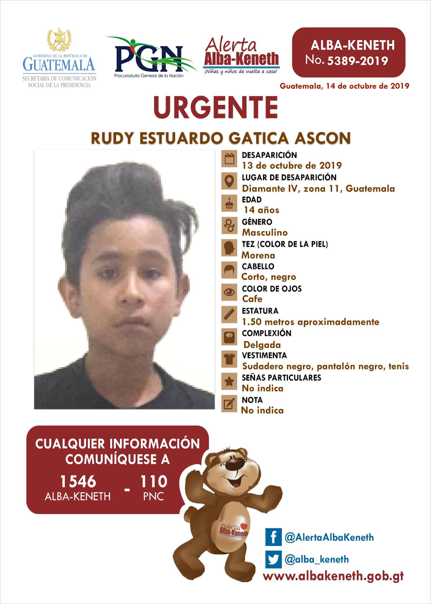 Rudy Estuardo Gatica Ascon