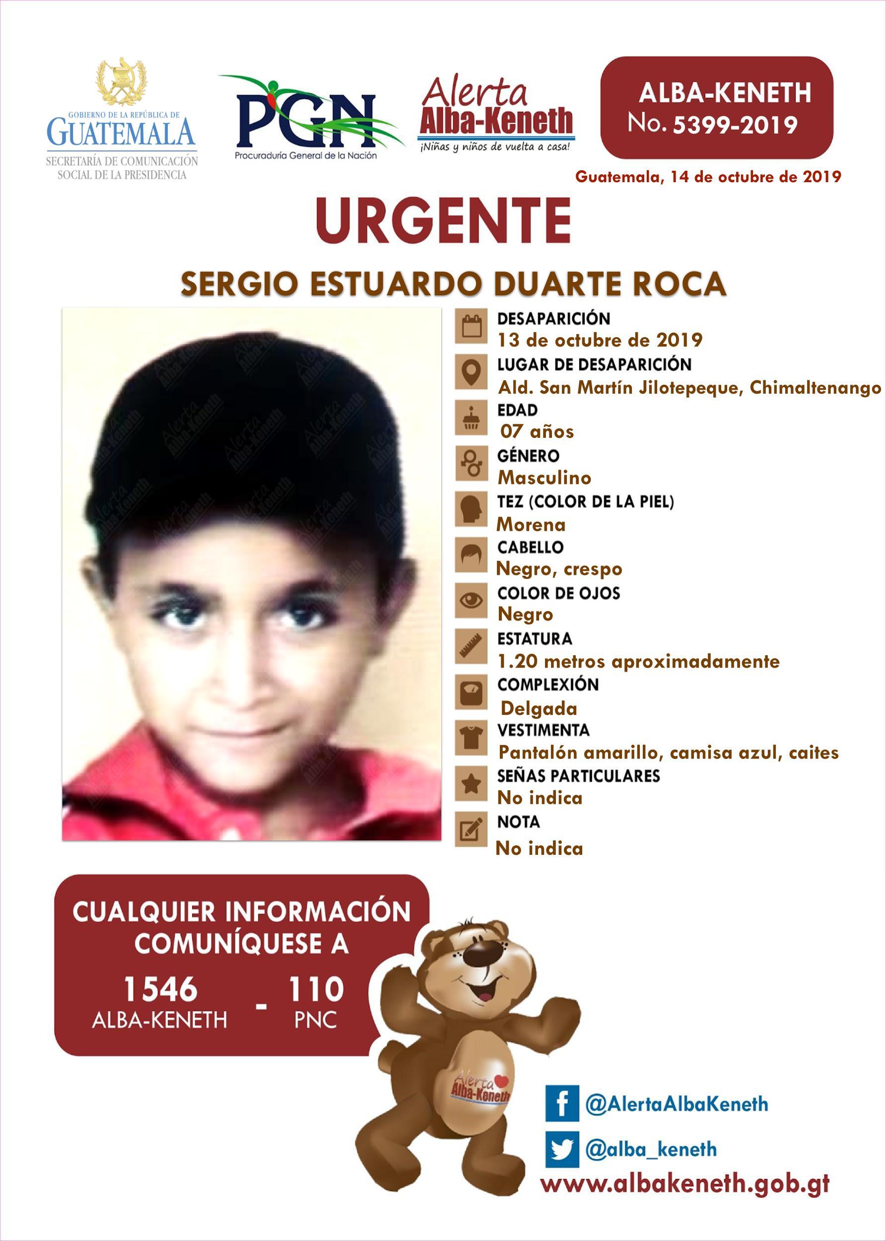 Sergio Estuardo Duarte Roca