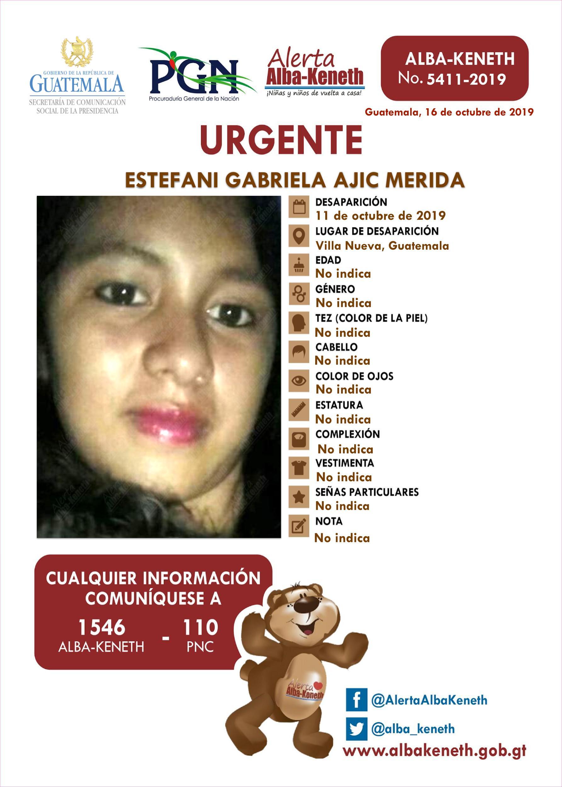 Estefanai Gabriela Ajuc Merida