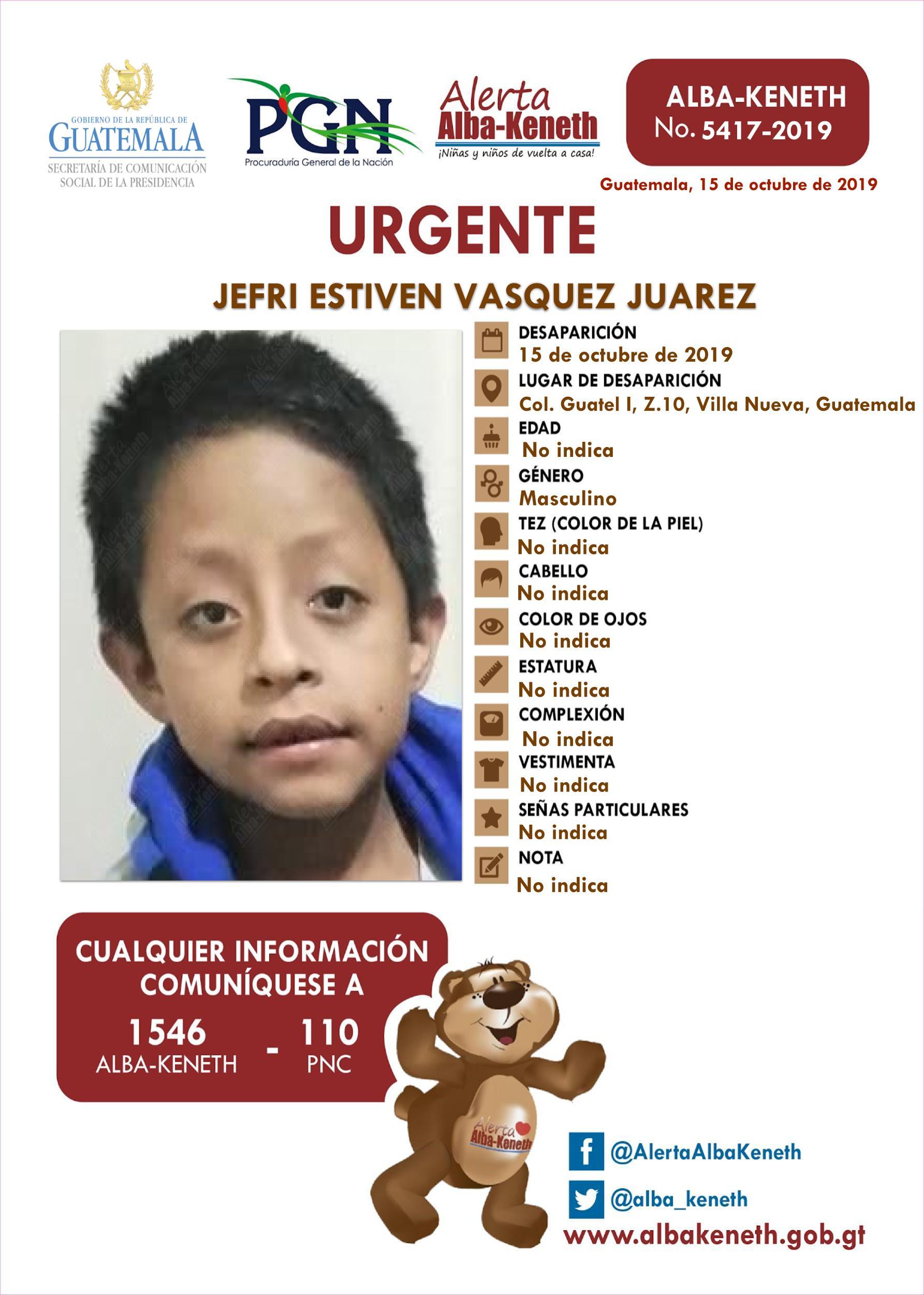 Jefri Estiven Vasquez Juarez