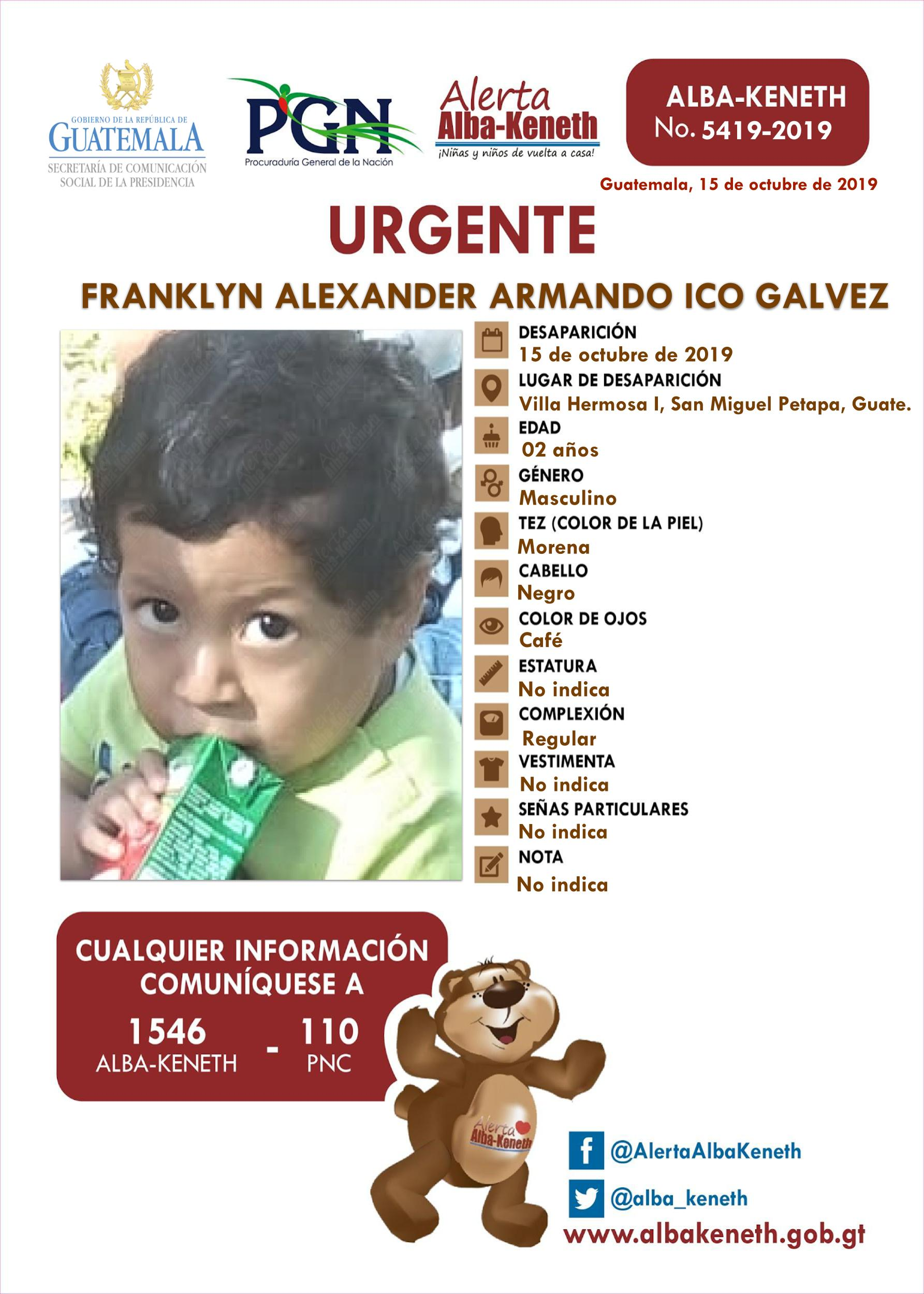 Franklyn Alexander Armando Ico Galvez