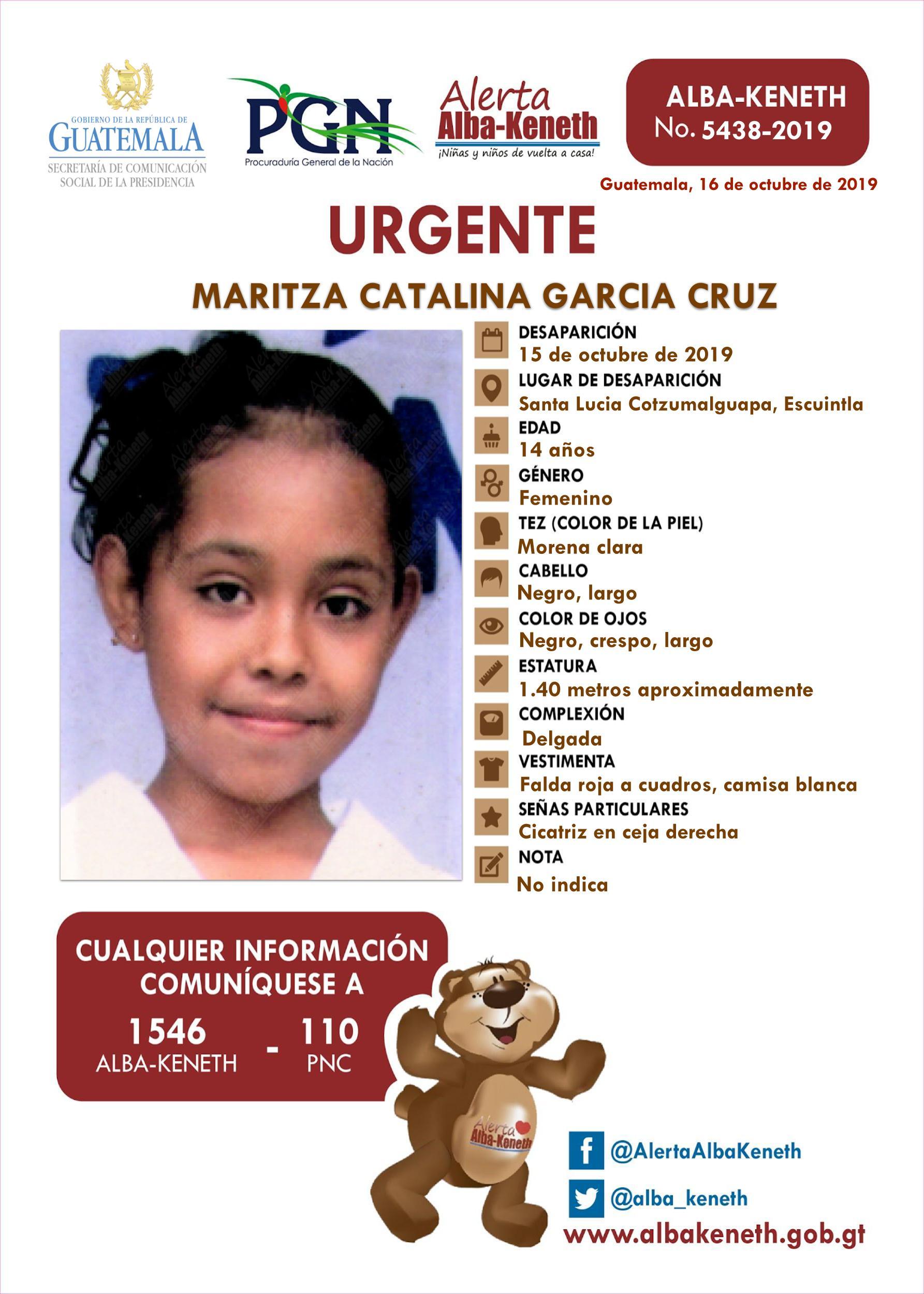 Maritza Catalina Garcia Cruz