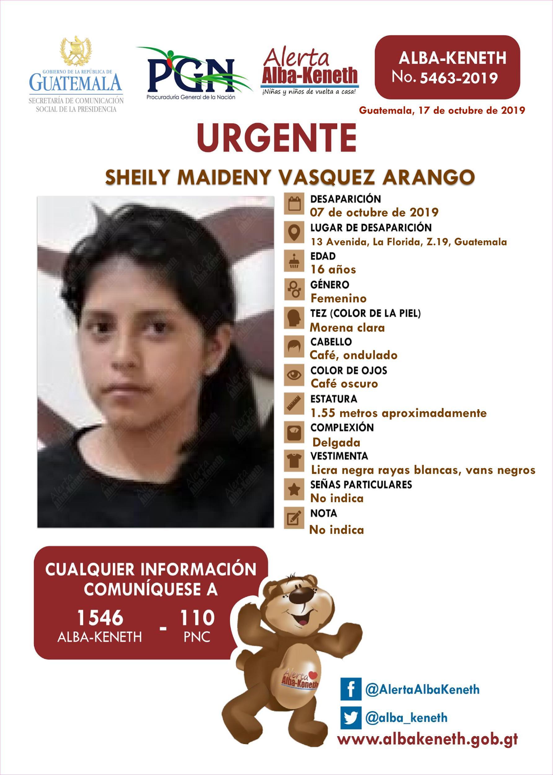 Sheily Maideny Vasquez Arango