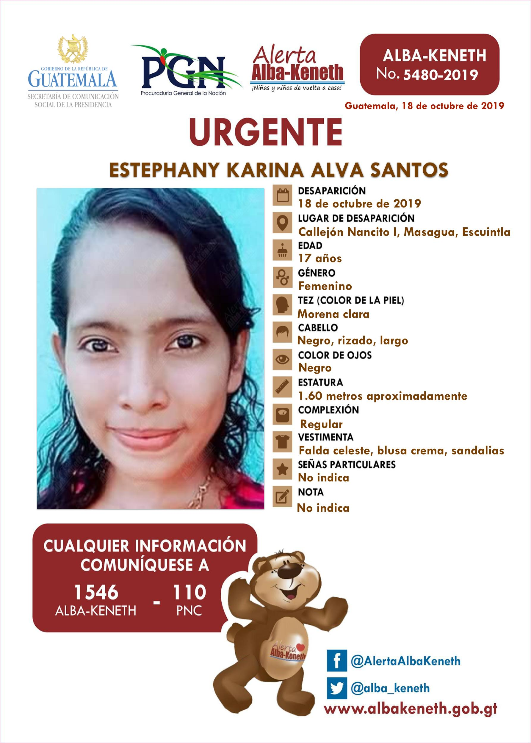 Estephany Karina Alva Santos