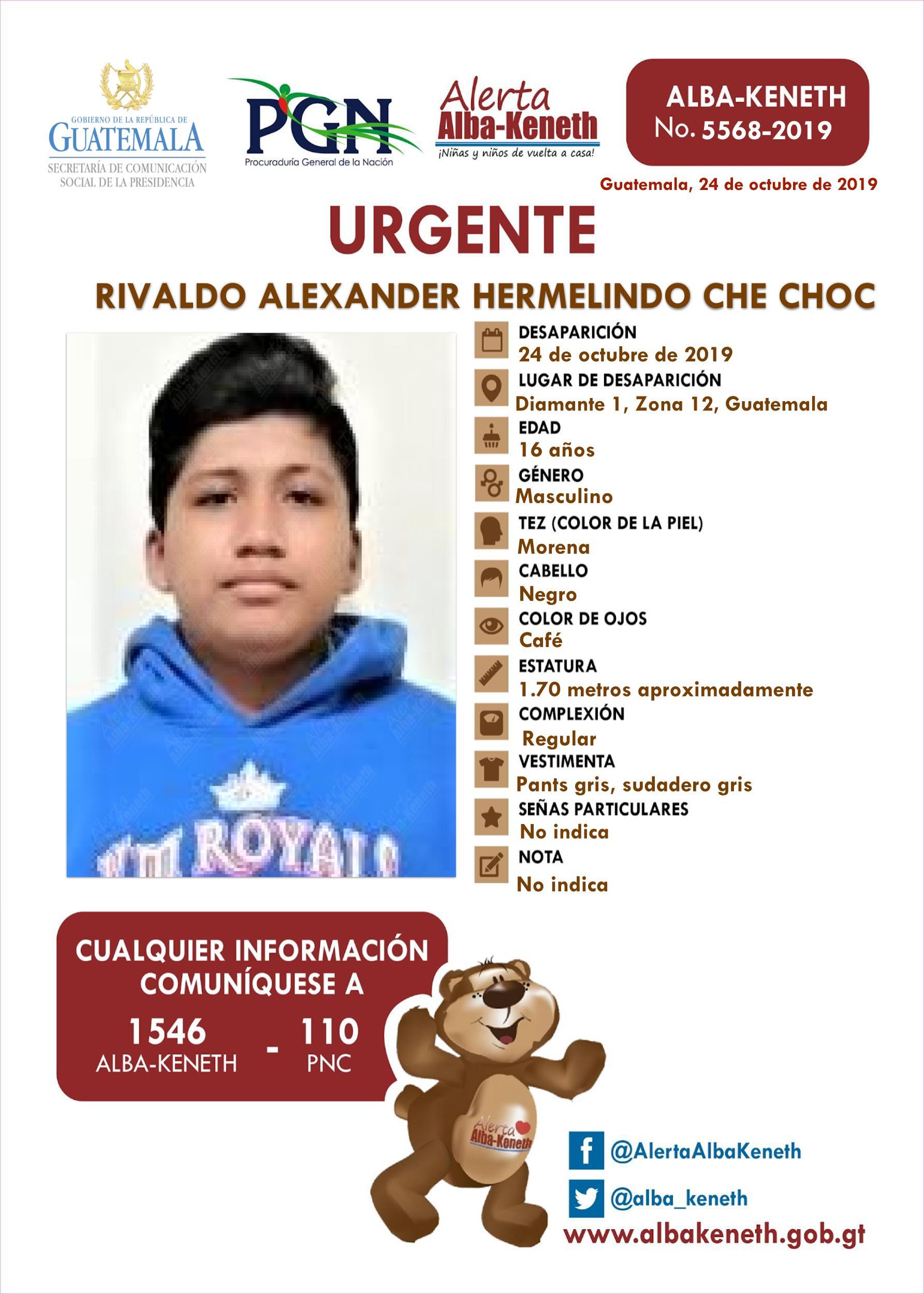 Rivaldo Alexander Hermelindo Che Choc