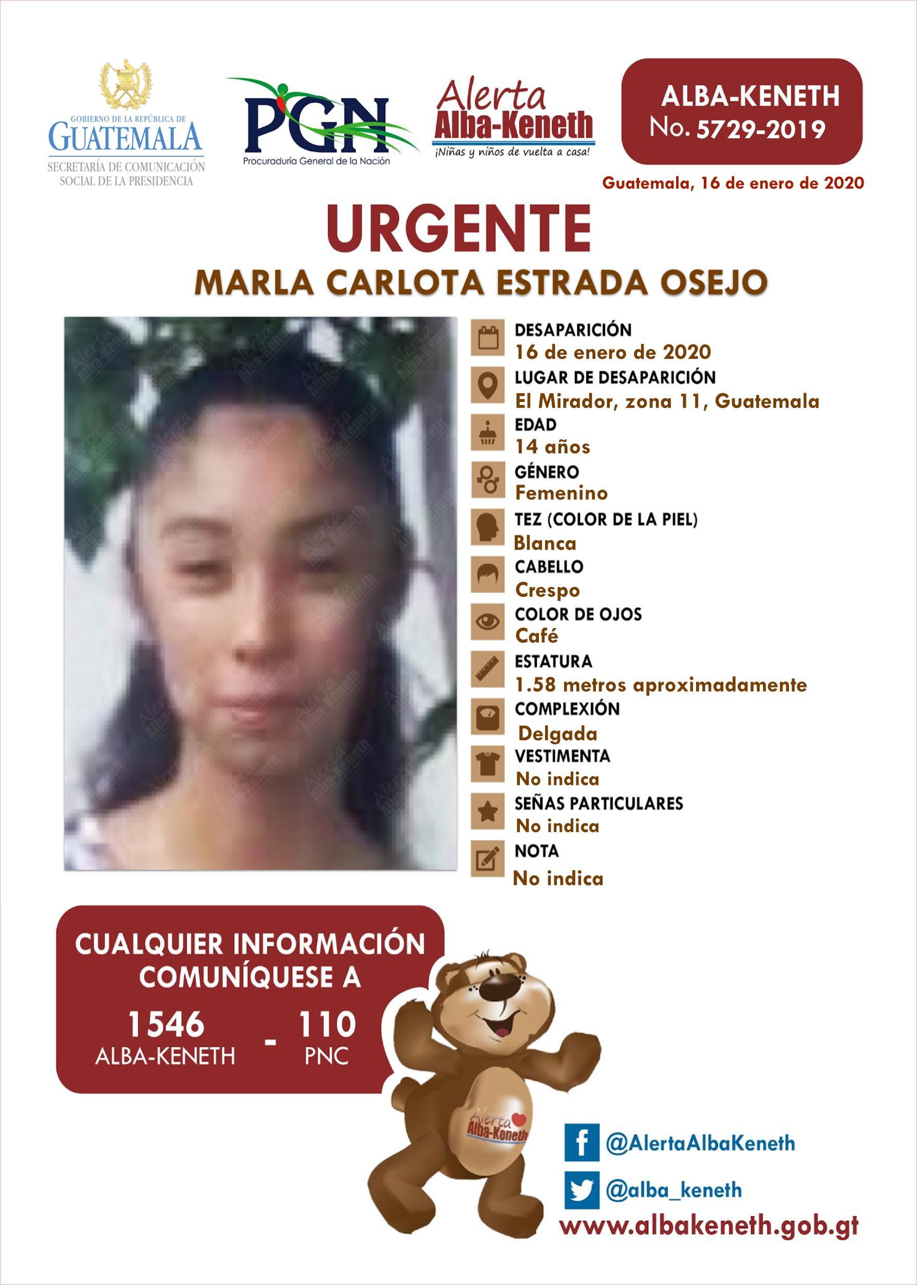 Marla Carlota Estrada Osejo