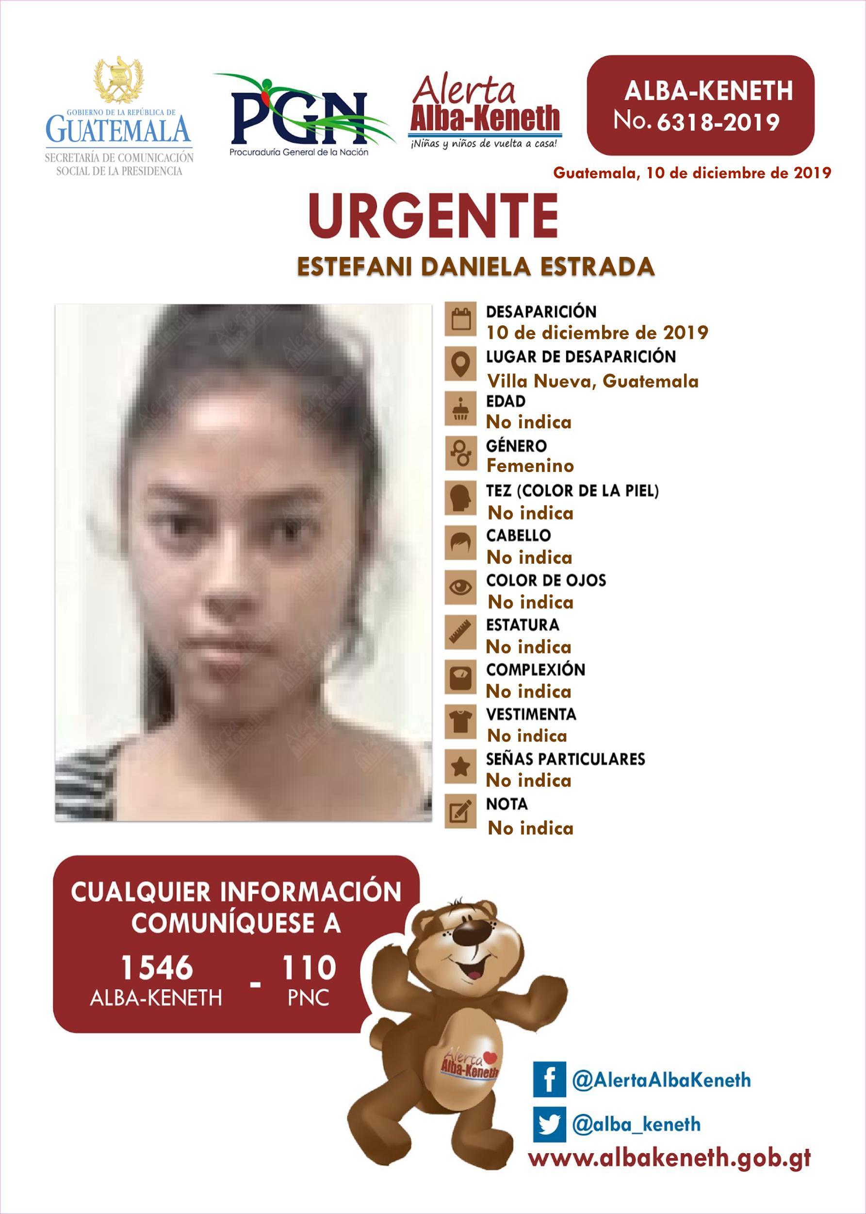 Estefani Daniela Estrada