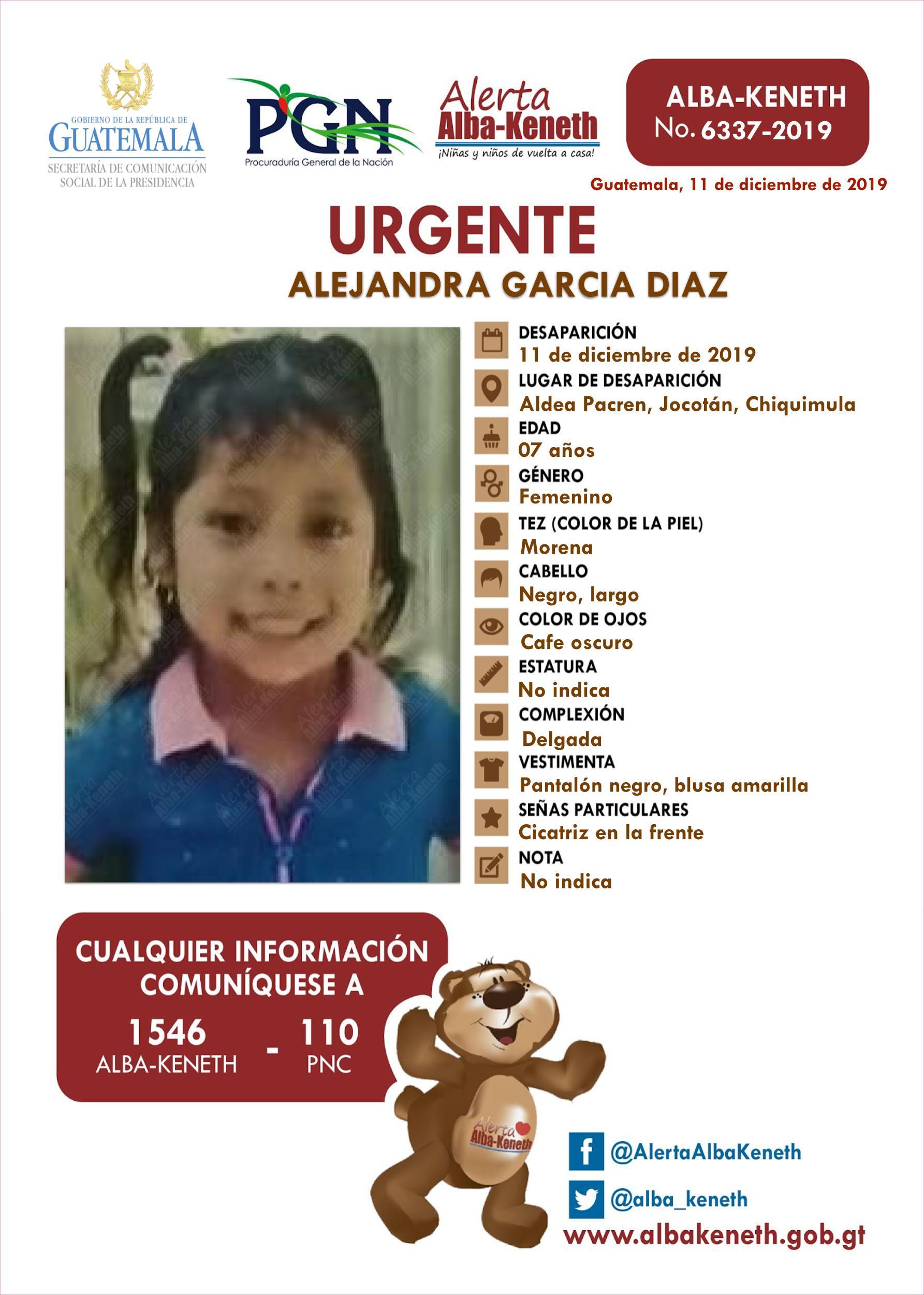 Alejandra Garcia Diaz